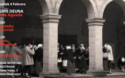 Euskal  Museoak  Euskal  Abesbatzen  Jardunaldia  eskainiko  du,  Agate  Deuna  eguna  ospatzeko