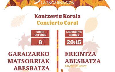 Concierto Coral en la Encarnación de Atxuri