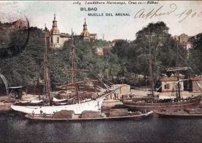 Muelle del Arenal 1906