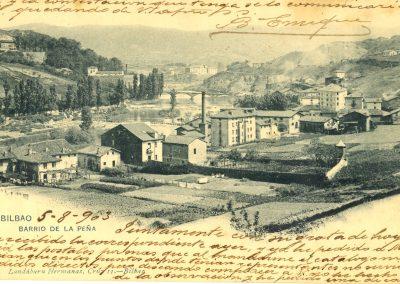 Barrio de la Peña 1903