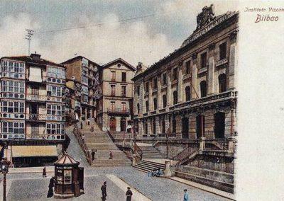 Institutu Vizcaíno y calzadas de Mallona